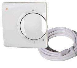 analoges thermostat mit sensor elektrische. Black Bedroom Furniture Sets. Home Design Ideas