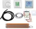 Kombi Fliesenheizmatte TWIN 2,5m²+Thermostat