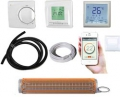 Kombi Fliesenheizmatte TWIN 7,0m²+Thermostat